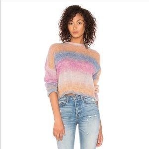 Rails Camille Rainbow Crewneck Colorful Sweater